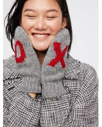 Free People - Hugs And Kisses Mitten - Lyst