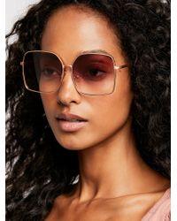 Free People - Head Over Heels Sunglasses - Lyst
