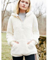Free People - Free People Fp Movement Off The Record Soft Fleece Hoodie - Lyst