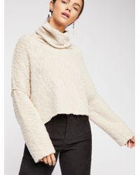 Free People - Big Easy Cowl Pullover - Lyst