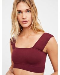 Free People - Such A Square Crop - Lyst