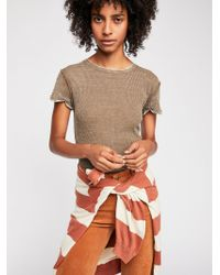 Free People - We The Free Corey Tee - Lyst
