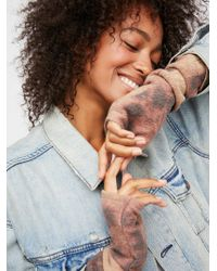 Free People - Badlands Hand-dyed Wool Armwarmer - Lyst