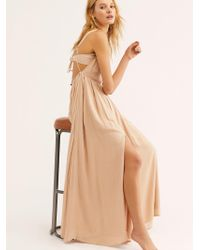 Free People - Yes Please Maxi Dress - Lyst