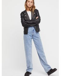 Free People - Levi's Big Baggy Jeans - Lyst