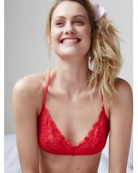 Free People | Essential Lace Racerback | Lyst