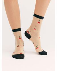 Free People - Bing Sheer Crew Socks By Hansel From Basel - Lyst