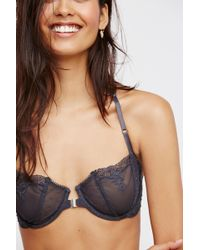 a375b3f554 Lyst - Free People Fancy Back Underwire Bra By Intimately in Pink