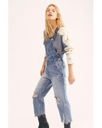 Free People - Baggy Boyfriend Overalls By We The Free - Lyst