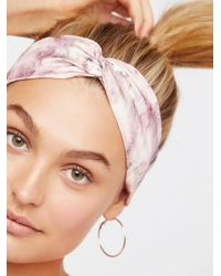 Free People - Marble Printed Turban - Lyst