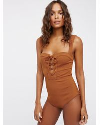 Free People - Philo Bodysuit - Lyst