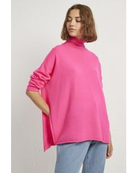 French Connection - Eda Cashmere High Neck Jumper - Lyst