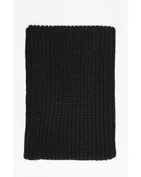French Connection | Leatrice Chunky Gauge Scarf | Lyst
