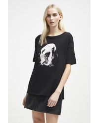 French Connection - Otis Band T-shirt - Lyst