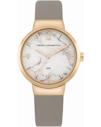 French Connection - Marble Dial Watch - Lyst