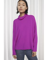 French Connection - Bea Cashmere High Neck Jumper - Lyst