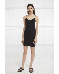French Connection - Kali Jersey Strappy Back Dress - Lyst