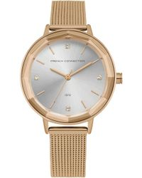 French Connection - Mesh Strap Watch - Lyst