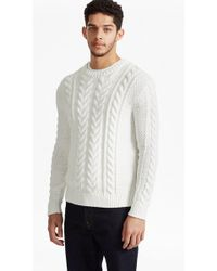 French Connection | Flux Cable Knit Jumper | Lyst