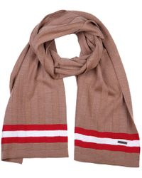 Bally - Wool Scarf Camel Knits - Lyst
