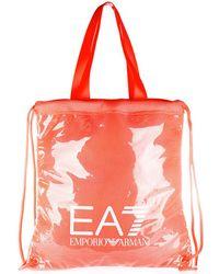 EA7 - Handbag Shopping Bag Purse Tote Beach Mesh - Lyst