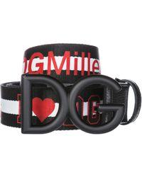 Dolce & Gabbana - Cintura uomo ilovedg - Lyst