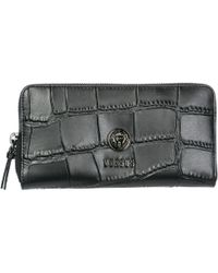 f699c4193d92fa Versus - Wallet Genuine Leather Coin Case Holder Purse Card Lion Head - Lyst