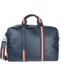 8dbe1a23ba66 Armani Jeans Travel Duffle Weekend Shoulder Bag in Black for Men - Lyst