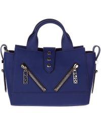 KENZO - Leather Handbag Shopping Bag Purse - Lyst