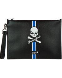 Philipp Plein - Bag Handbag Genuine Leather Kingstone - Lyst