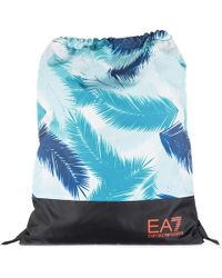 EA7 - Rucksack Backpack Travel Train Graphic - Lyst