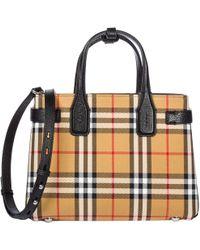 Burberry - Handbag Shopping Bag Purse Tote Banner - Lyst