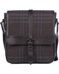 c8119c68ffa2 Burberry - Cross-body Messenger Shoulder Bag Horseferry Check - Lyst