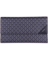 Bally - Wallet Genuine Leather Cheque Book Balmhorn Canvas Coated - Lyst