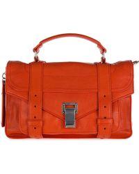 Proenza Schouler - Leather Handbag Shopping Bag Purse Tiny Lux - Lyst