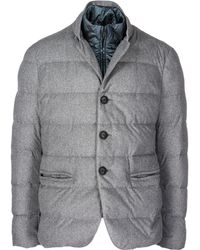 Emporio Armani - Piumino Outerwear Jacket Blouson - Lyst