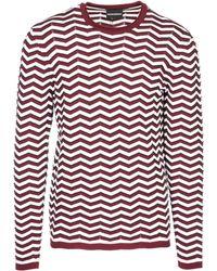 Emporio Armani - Maglione maglia uomo girocollo slim fit - Lyst