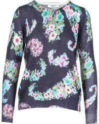 Blugirl Blumarine - Jumper Sweater Crew Neck Round - Lyst