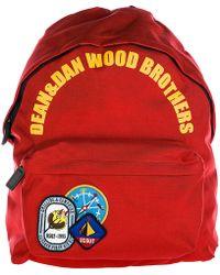 DSquared² - Nylon Rucksack Backpack Travel Campire Cadette - Lyst