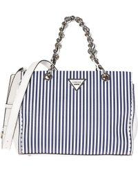 22428cf24de4 Guess - Handbag Cross-body Messenger Bag Purse Sawyer - Lyst