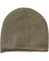 EA7 - Beanie Hat - Lyst