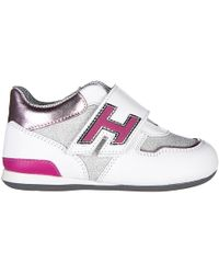 Hogan - Girls Shoes Baby Child Sneakers Pelle Olympia - Lyst