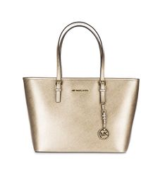 Michael Kors - Leather Shoulder Bag Jet Set Travel - Lyst