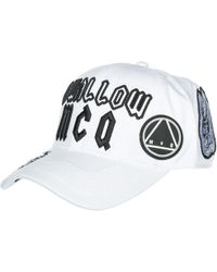 64c6ad63f1a93 Mcq Alexander Mcqueen Swallow Baseball Cotton Hat in Black for Men ...