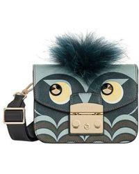 Metropolis Jungle Mini Cosmetic Case Toni Blu Furla MrGMF0UEwu