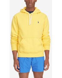 Polo Ralph Lauren - Sweat à capuche à teneur en coton siglé - Lyst