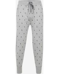 Polo Ralph Lauren - Pantalon de pyjama logotypé en all over - Lyst