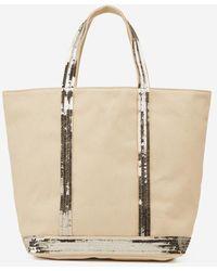 1f1b2d5a56 Lyst - Mini sac à main femme Lancaster Paris en coloris Neutre