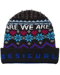 low price sale super popular professional sale Bonnet à teneur en laine Winter Blue