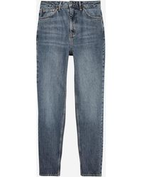 TOPSHOP Jeans Mom fit - Gris